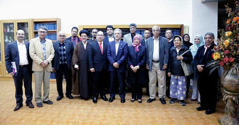 A high ranking delegation from University of Putra Malaysia (UPM) met with President of University of Tehran