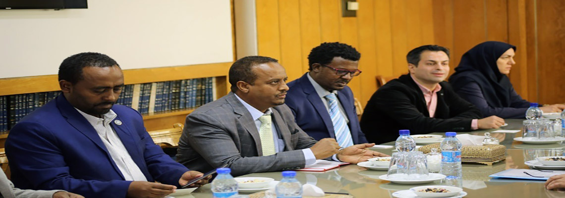 Delegation of Mekelle University, Ethiopia met with President of University of Tehran