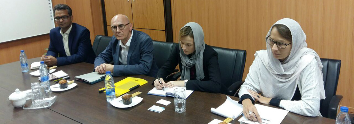 Delegations from Sweden, Germany and Spain met with Vice President for International Affairs, University of Tehran