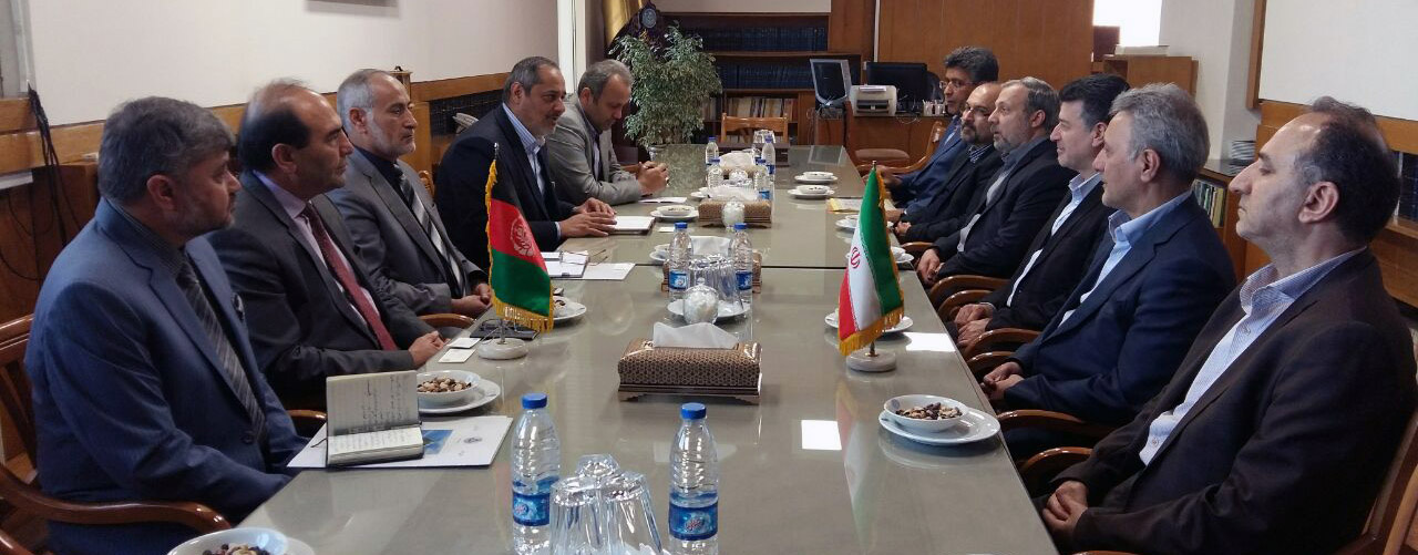 A high ranking delegation from Afghanistan visited University of Tehran