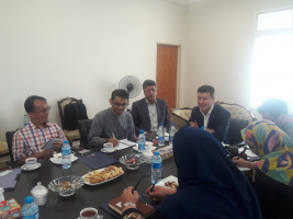 Malaysian delegation visited University of Tehran
