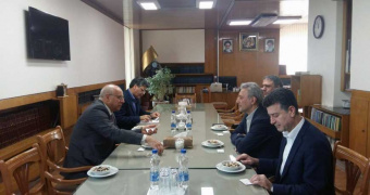 Ambassador of Bosnia and Herzegovina met President of University of Tehran
