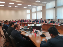 Roundtable on joint cooperation between University of Tehran and Russian University of Transport (RUT)