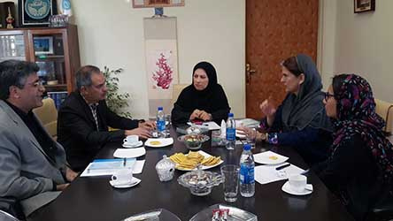 Minister-Counselor -Deputy Head of Mission of Embassy of Brazil met with Director General, Office of International Relations, University of Tehran