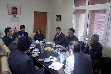 A delegation from University of Zurich, Switzerland visited University of Tehran