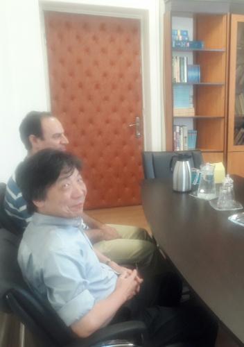 Professor of Tohoku University, Japan visited University of