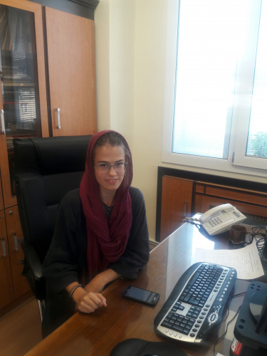 A student from Switzerland speaks about her experiences in University of Tehran and Iran
