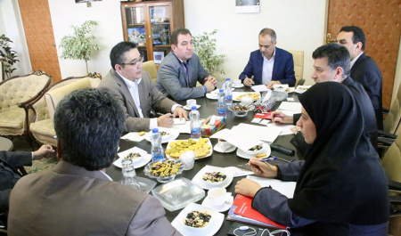 Prof. SANO Tosei  from Ryukoku University , Japan met with Prof. Ghahrmani, Vice President for International Affairs, University of Tehran