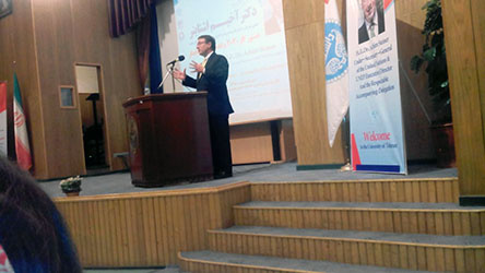 UNEP Executive Director and Under-Secretary-General of the United Nations presented a speech at University of Tehran