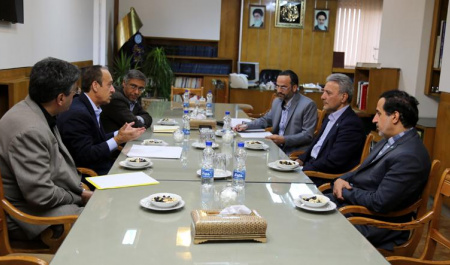 Chancellor of Indiana University–Purdue University Indianapolis (IUPUI) met with President of University of Tehran