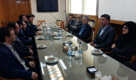 President of Ibn-e Sina University of Afghanistan met with President of University of Tehran