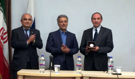 Office of  Russkiy Mir Foundation was opened at University of Tehran