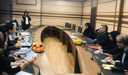 Vietnamese delegation visited University of Tehran