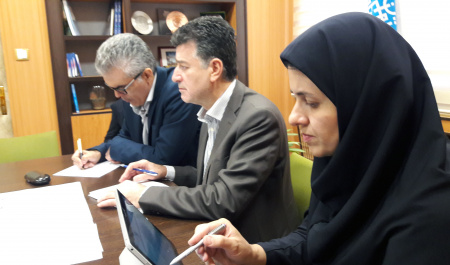 University of Tehran and St. Petersburg University holds video conference talks