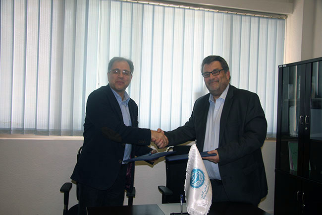 MOU was signed between the University of Tehran Kish International Campus and Sciences Po Lyon, France