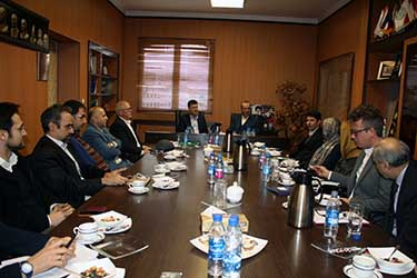 A high ranking delegation from Sweden met with Vice President for International Affairs