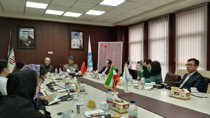 Chinese delegation visited Faculty of Foreign Languages and Literature, University of Tehran