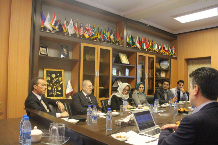 A high ranking delegation from  Polytechnic University of Turin, Italy visited University of Tehran
