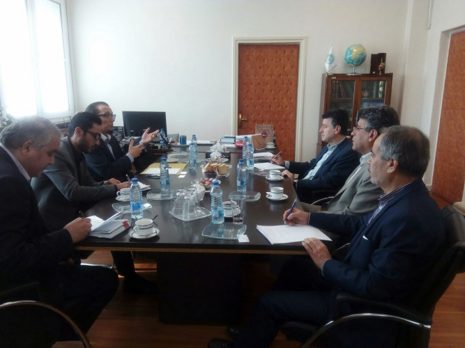 Chargé d'affaires of Embassy of Chile in Iran met withb the Vice President for International Affairs
