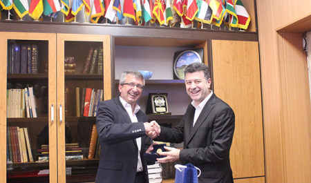 Director of International Affairs, University of Cologne, Germany met with Vice-President for International Affairs