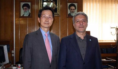 President of Korea Foundation for Advanced Studies(KFAS) meets with President of University of Tehran(UT)
