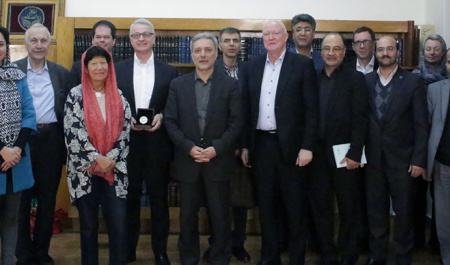 A German delegation from Bosch Foundation and its European partners met with President of University of Tehran