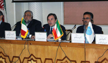 The second round of Iran and Italy cultural dialogue was held at UT