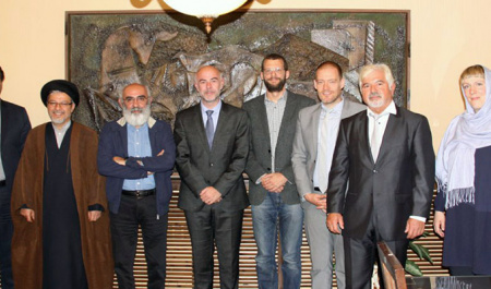 University of Humboldt delegation visited University of Tehran