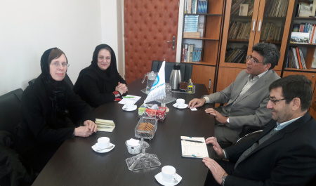 Professors of Iranian Studies at University of Bamberg, Germany visited UT