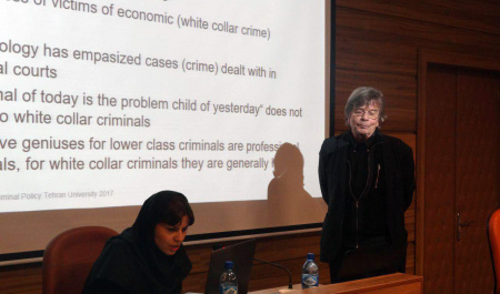 A Director at Max Planck Institute, Germany delivered a speech at the Faculty of Law and Political Sciences, University of Tehran