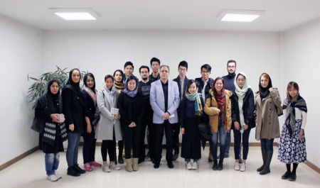 The University of Hong Kong students visited Alborz Campus, University of Tehran