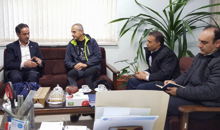 Professor of the University of Cagliari, Italy visited College of Agriculture and Natural Resources, University of Tehran