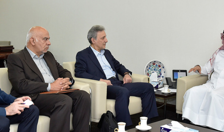 President of University of Tehran visited Qatar University