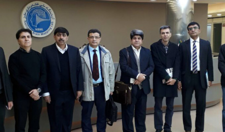 A delegation from Pakistan paid a visit to the College of Engineering, University of Tehran