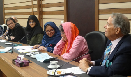 A delegation of Australian academics from Australian Institute of International Affairs (AIIA) visited University Tehran